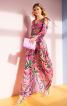 Сукня максі з відкритими плечима - фото 1