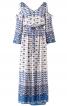 Сукня з відкритими плечима і пишними рукавами - фото 2