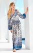 Сукня з відкритими плечима і пишними рукавами - фото 1