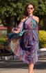 Сукня з відкритими плечима і рукавами-балон - фото 1