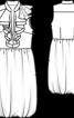 Сукня зі спідницею балон - фото 3