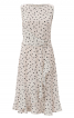 Сукня відрізна з воланами і драпіровкою - фото 2