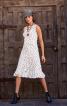 Сукня відрізна з воланами і драпіровкою - фото 1