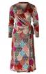 Сукня із запахом і розкльошеною спідницею - фото 2