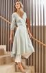 Сукня з запахом і асиметричним низом - фото 1