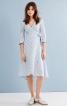 Сукня із запахом і рукавами 3/4 - фото 1