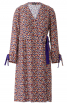 Сукня відрізна із запахом і зав'язками - фото 2