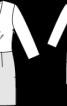 Сукня міні з пайєтками - фото 3