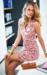 Сукня з ефектом запаху і драпіровками - фото 1