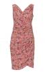 Сукня з ефектом запаху і драпіровками - фото 2