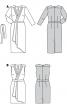 Сукня атласна з ефектом запаху - фото 6