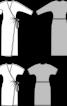 Сукня з короткими рукавами «летюча миша» - фото 3