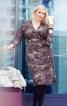 Сукня приталеного крою з запахом - фото 1