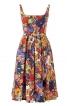Сукня на бретелях із спідницею в складку - фото 2