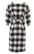 Сукня зі спущеними плечима і широким поясом - фото 2