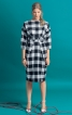 Сукня зі спущеними плечима і широким поясом - фото 1