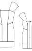 Сукня з рельєфними швами - фото 3