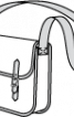 Сумка-портфель на довгому ремені - фото 3