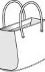 Сумка зі штучного хутра - фото 3