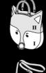 Сумка з довгою ручкою «Кішка» - фото 3