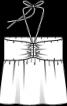 Топ-бандо трикотажний з бретеллю-петлею - фото 3