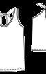 Топ на бретелях з вирізом крапелькою на спинці - фото 3