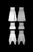 Топ-спідниця на гумових жилках - фото 3