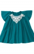 Блузка з рукавами-крильцями - фото 2