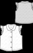 Блузка трикотажна з відкладним коміром - фото 3