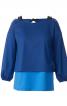 Пуловер прямого крою і топ на бретелях - фото 2