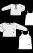 Пуловер прямого крою і топ на бретелях - фото 3