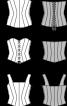 Корсаж-бюстьє на широких бретелях - фото 3