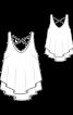 Топ двошаровий розкльошеного силуету - фото 3