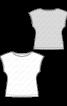 Топ з приспущеною лінією плеча - фото 3