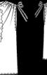 Топ прямого крою зі зборками на плечах - фото 3