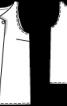 Топ прямого крою зі складкою біля горловини - фото 3