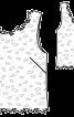 Топ прямого крою з мереживного полотна - фото 3
