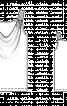 Топ на бретелях з хвилеподібним вирізом  - фото 3