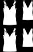 Топ приталеного силуету з перекрученими бретелями - фото 3