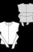 Пуловер з широкими зав'язками - фото 3