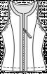 Топ з рельєфними швами - фото 3