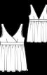 Топ силуету ампір в білизняному стилі  - фото 3
