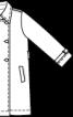 Тренчкот з відлітною кокеткою і поясом - фото 3