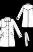 Тренчкот двобортний з відлітною кокеткою - фото 3