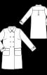 Пальто двобортне в стилі тренчкота - фото 3