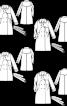 Тренчкот двобортний із бавовняної саржі - фото 3