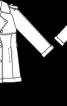 Тренчкот короткий двобортний - фото 3
