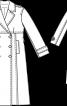 Тренчкот класичний приталеного крою - фото 3
