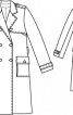 Тренчкот з накладними кишенями - фото 3