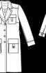 Пальто коротке в стилі тренчкота - фото 3